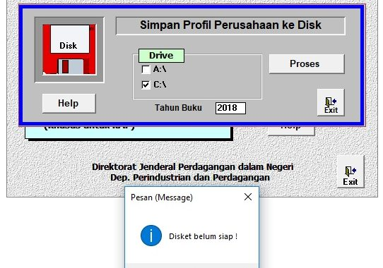 Download LKTP – Cara menyimpan File ke Root Drive C:\ di Windows 7, 8 dan Windows 10